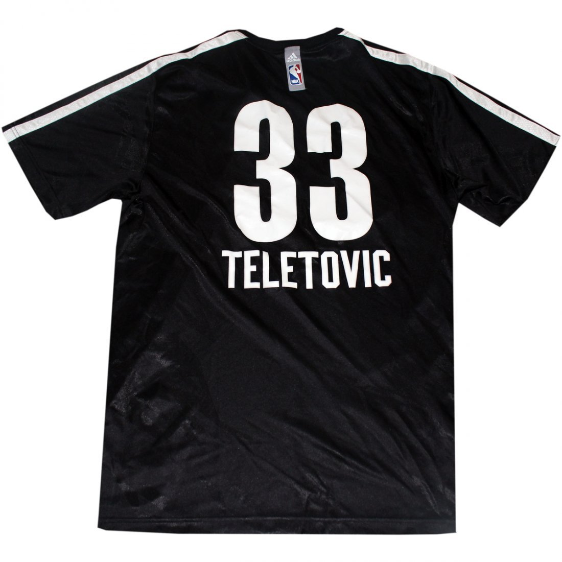 Mirza Teletovic Shirt - Brooklyn Nets 2013-2014 Season