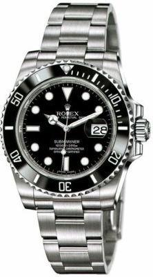 Rolex Submariner Date Ceramic Bezel Men's Watch