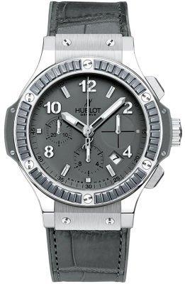 Hublot Big Bang Earl Grey Steel Carat 41mm Men's Watch