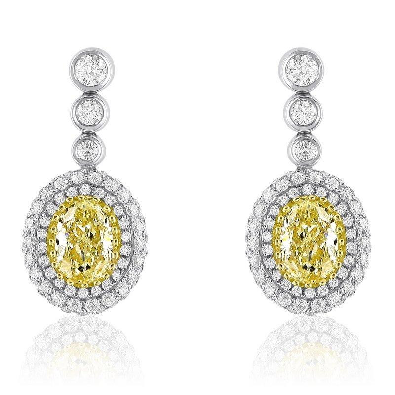 18KT  TWO TONE GOLD  2.25 DIAMOND MITALI.  Features  TW