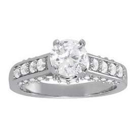 14K Gold 2.435 ctw Round Diamond Ring.  Brand New!   Fe