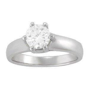 14K Gold 0.75 ctw Round Diamond Ring.  Brand New!   Fea