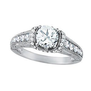 14K Gold 2.905 ctw Round Diamond Ring.  Brand New!   Fe