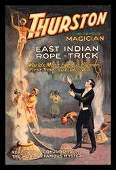East Indian Rope Trick: Thurston the Famous Magician 28