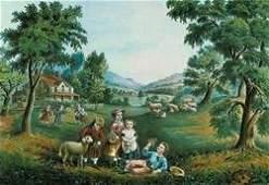 Four Seasons 12x18 Giclee on canvas