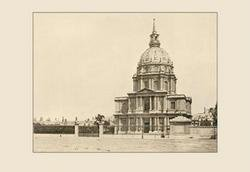 The Hotel des Invalides 20x30 poster