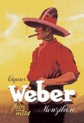 Weber Cigars 12x18 Giclee on canvas