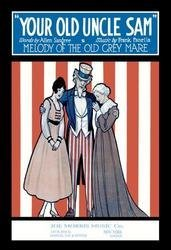 Your Old Uncle Sam - Melody of the Old Grey Mare 12x18