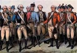 Cornwallis' Surrender 28x42 Giclee on Canvas