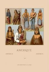 Native Americans - Killimous 28x42 Giclee on Canvas