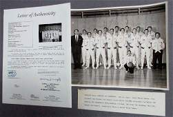 PHILLIPS 66ers 1950s BASKETBALL TEAM Signed 8x10 Photo