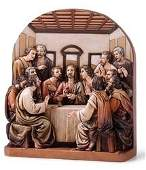 8 The Last Supper Figure Set of 2