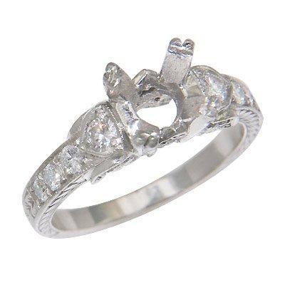 PLAT ROUND DIAMOND RING 6.9 GRAMS   1EURO=1.53