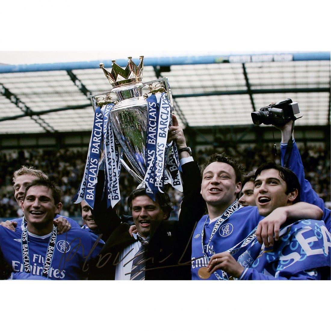 Jose Mourinho Signed Chelsea Premier League Winners 12x