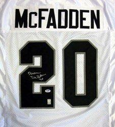 Darren McFadden Oakland Raiders NFL Hand Signed Authent