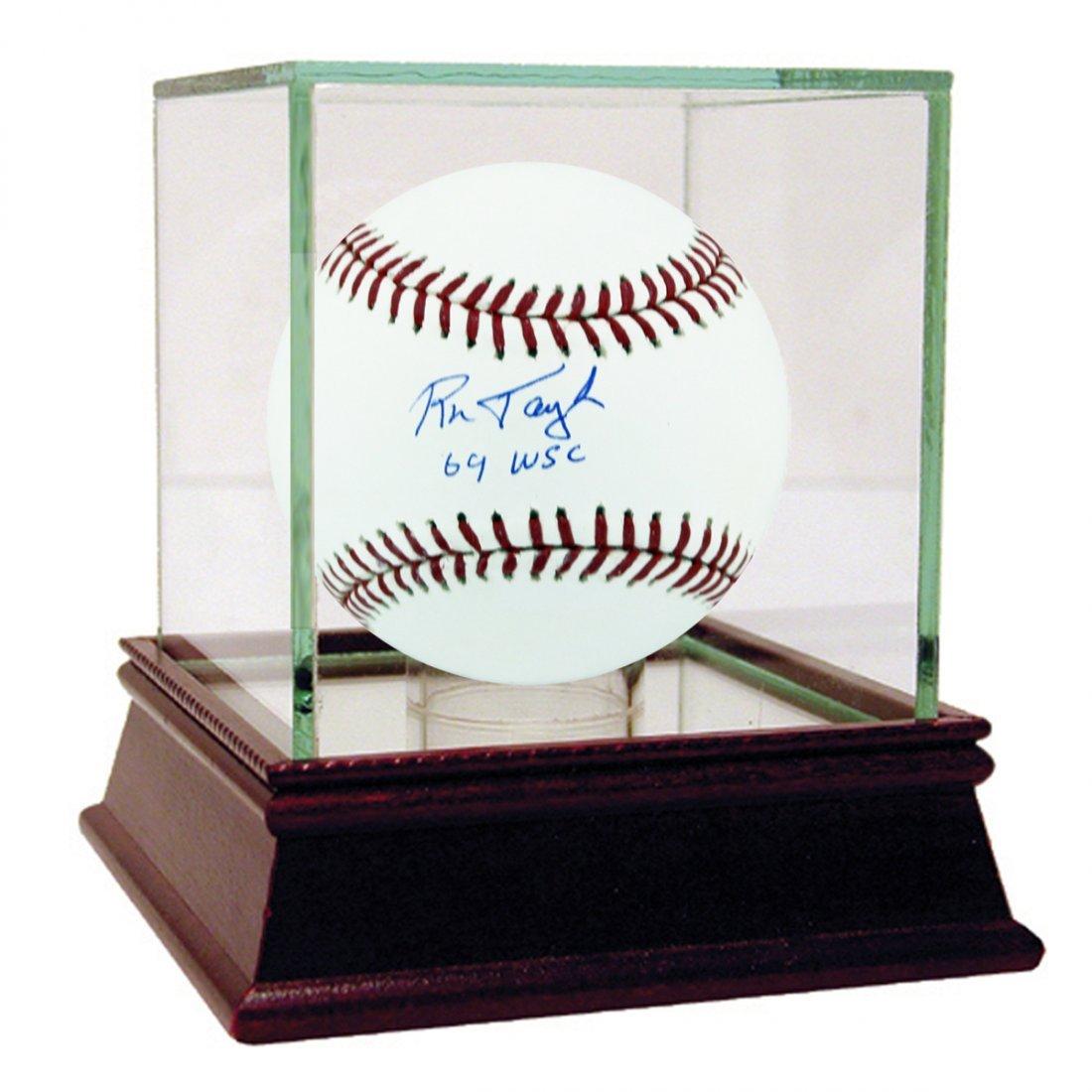 "Ron Taylor Signed MLB Baseball w/ ""69 WSC"" insc"