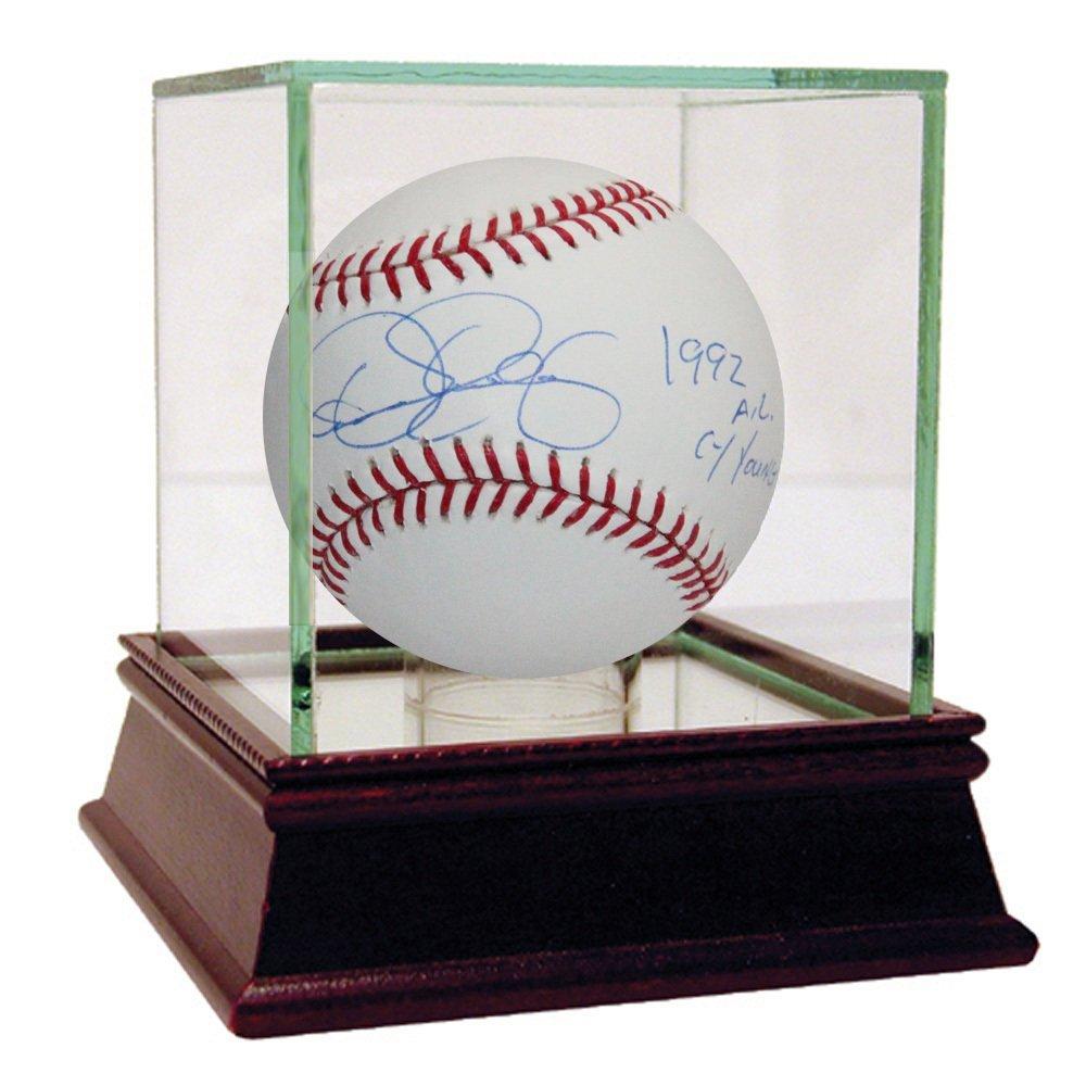 """Dennis Eckersley Signed MLB Baseball w/ """"1992 AL Cy You"""