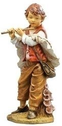"""50"""" Michael Boy With Flute Fig"""