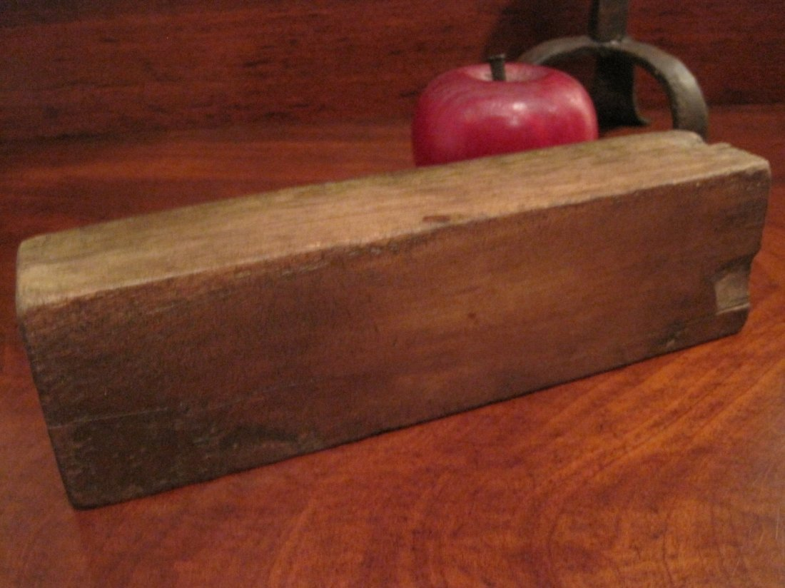 Shaker Beeswax Sewing Thread Mold & Sock Darners 1800s - 6