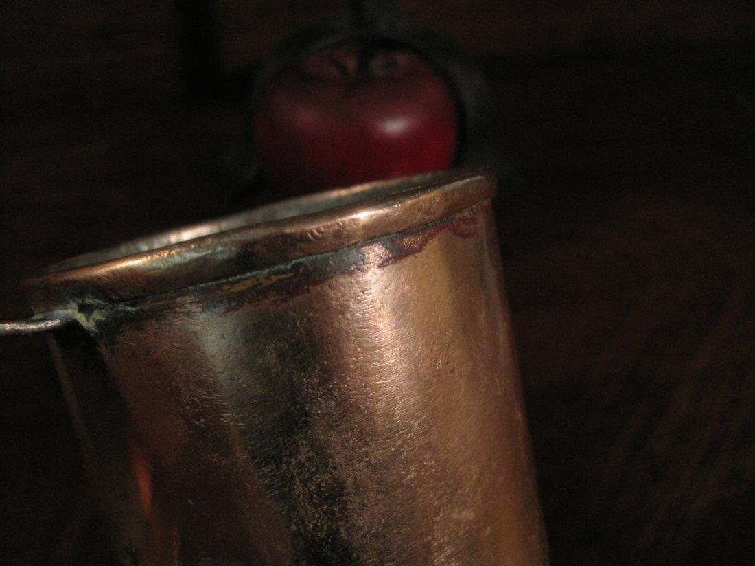 Colonial Copper Pint Tavern Tankard Mug Cup 1700s - 3