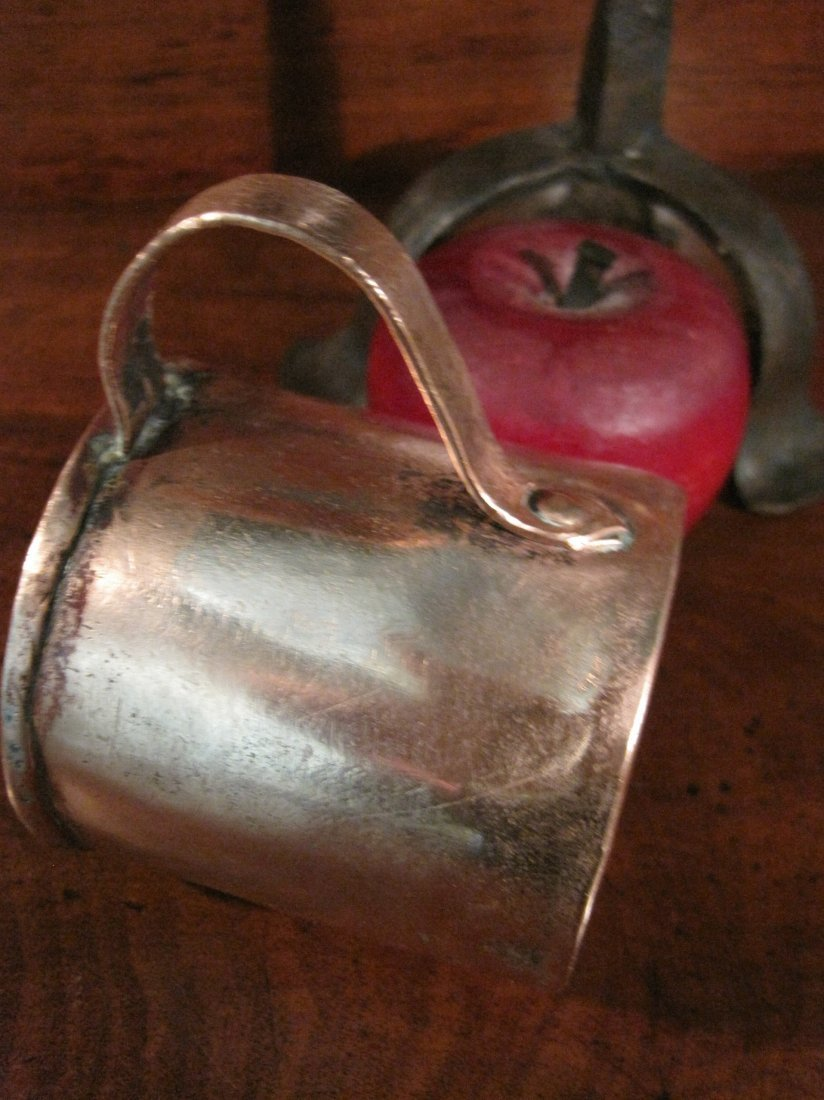 Colonial Copper Pint Tavern Tankard Mug Cup 1700s - 4