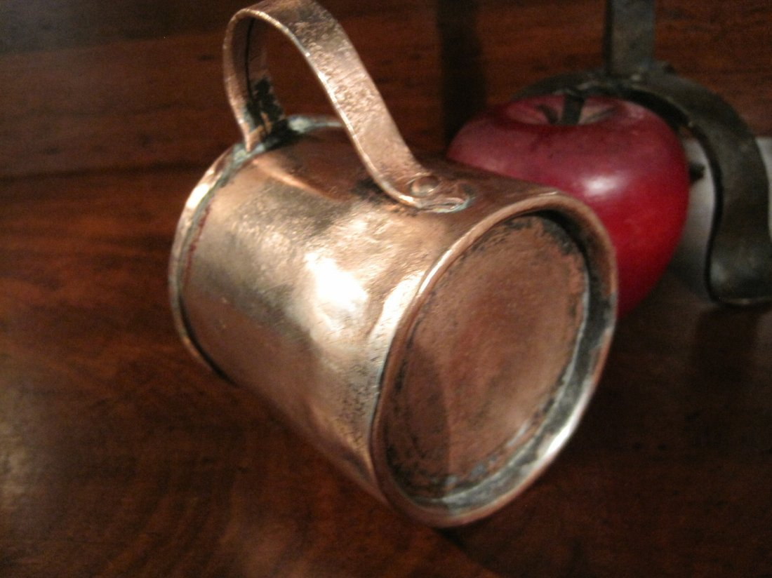 Colonial Copper Pint Tavern Tankard Mug Cup 1700s - 5