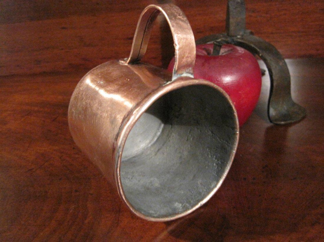 Colonial Copper Pint Tavern Tankard Mug Cup 1700s - 6