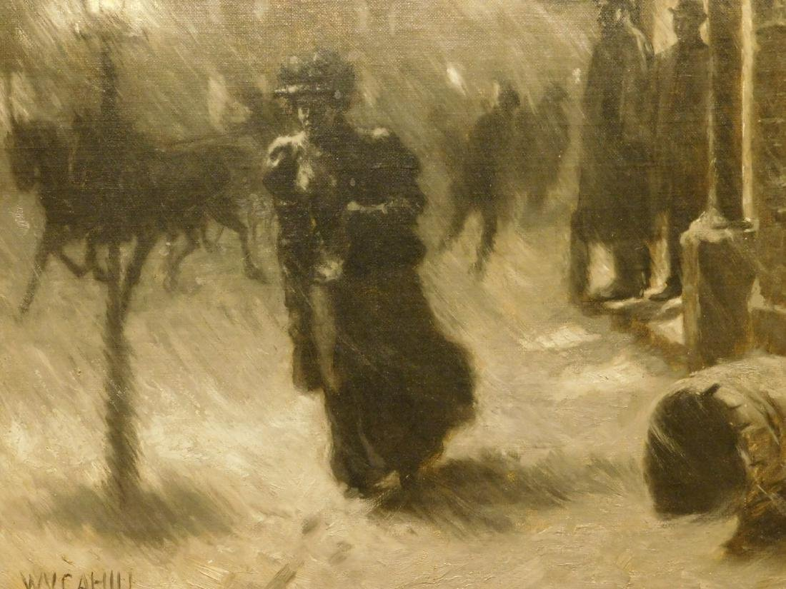 William Vincent Cahill: Woman in Snow
