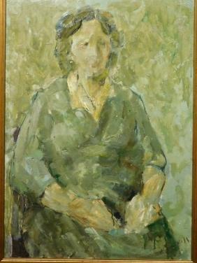 Mane-Katz: Portrait of a Woman
