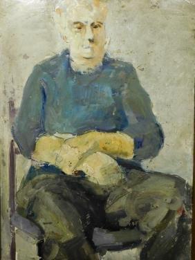 Mane-Katz: Portrait of a Man