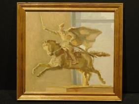 Lenin on Horseback, Russian Still Life oil painting