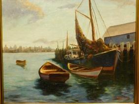 Doris Dexter: Gloucester Fishing Boats
