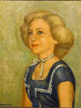 Burnham Pearlman:  Portrait of A Woman in
