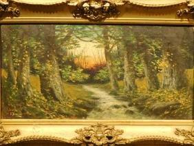 J. Davis: Woodland Stream