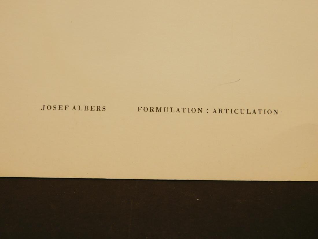 Josef Albers: Formulation: Articulation prospectus - 8