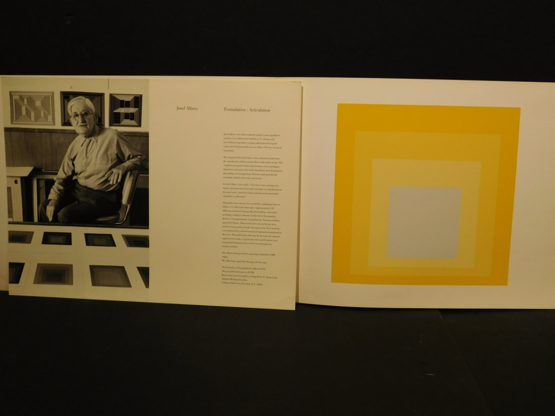 Josef Albers: Formulation: Articulation prospectus - 2