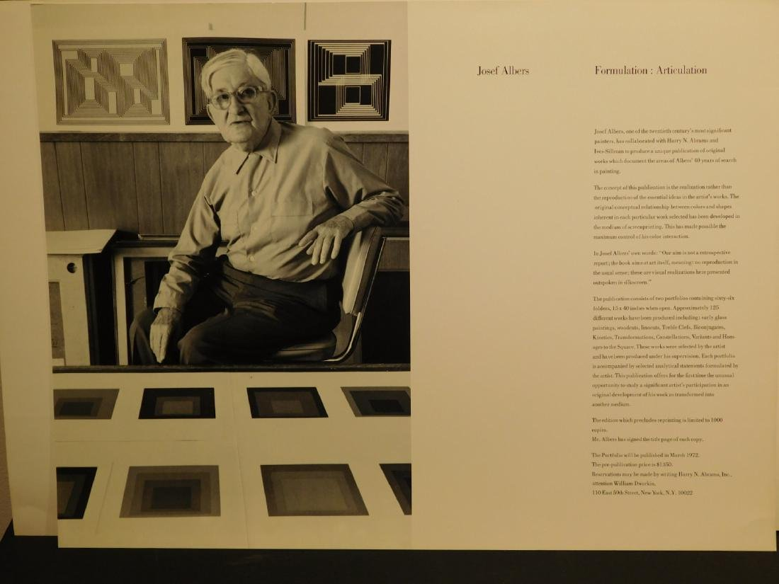 Josef Albers: Formulation: Articulation prospectus - 3