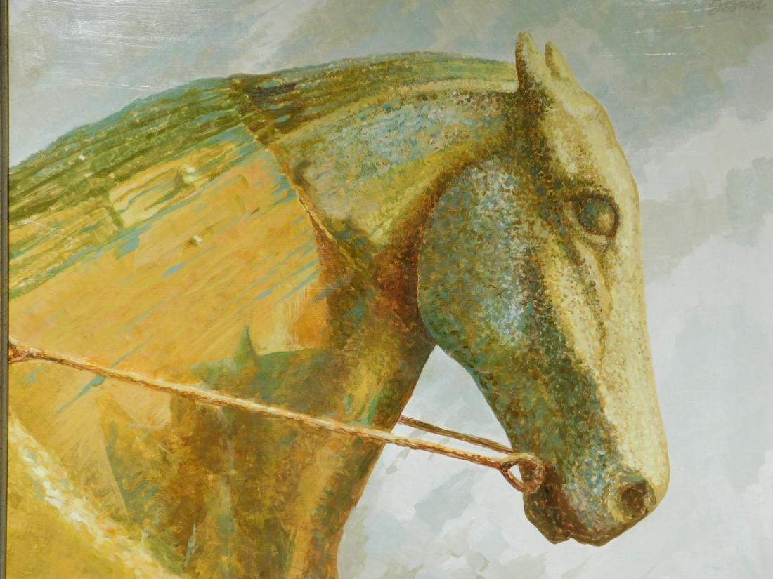 Howard John Besnia: Weather Vane Horse, Oil