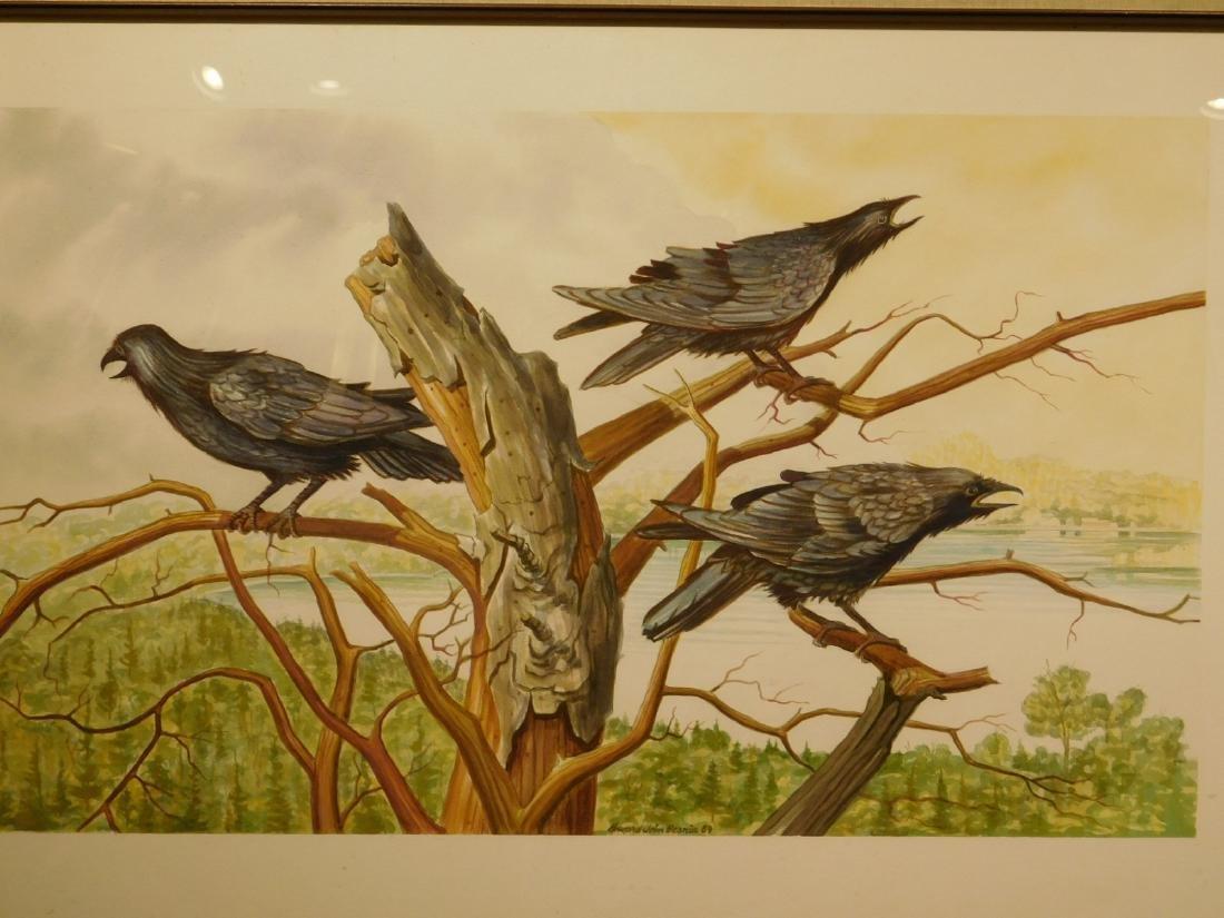 Howard John Besnia: Crows at Lake Washacum, 1989
