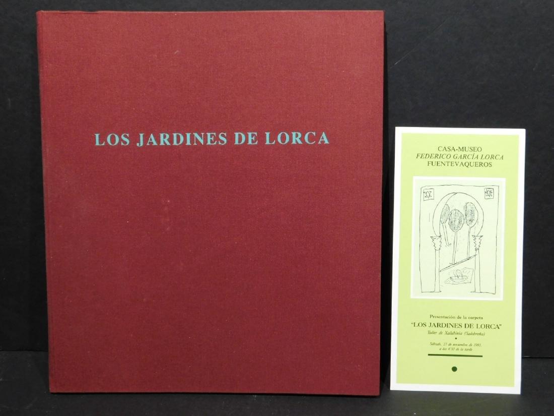 Los Jardins De Lorca, Folio of 8 prints, 1993