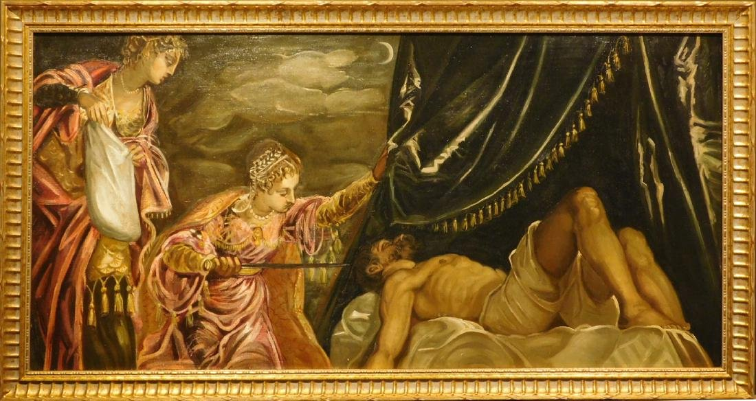 After Tintoretto: Judith and Holofernes, c.1900
