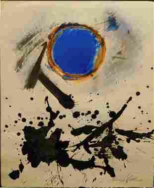 Adolph Gottlieb: Untitled, 1967 Gouache