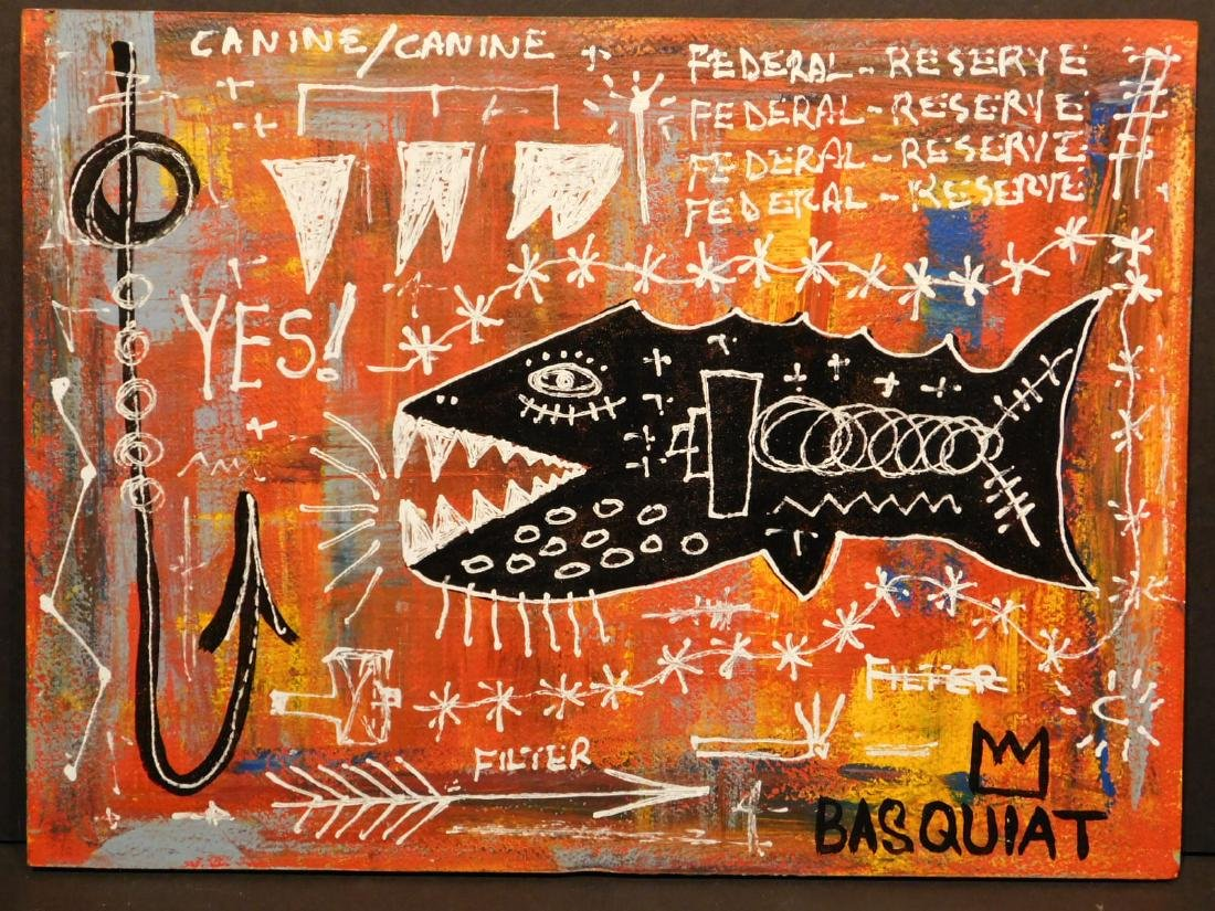 Jean-Michel Basquiat: Federal Reserve