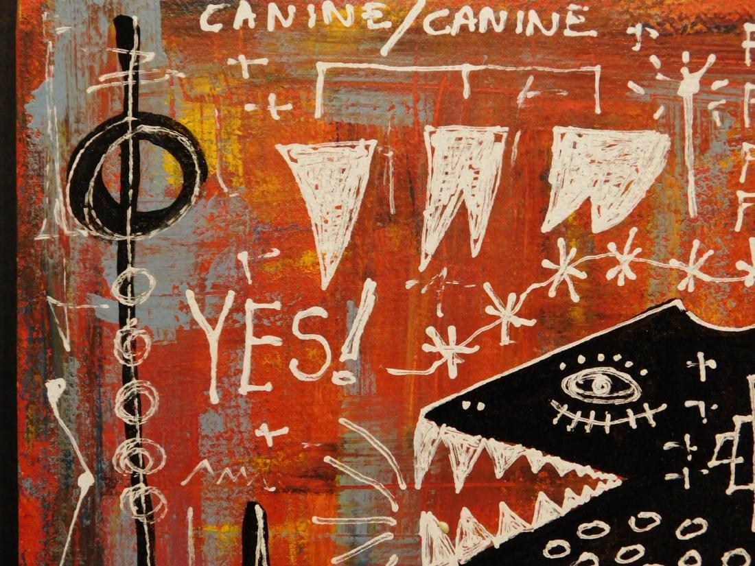 Jean-Michel Basquiat: Federal Reserve - 2