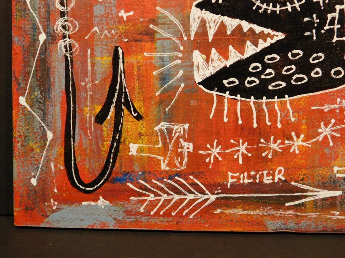 Jean-Michel Basquiat: Federal Reserve - 3