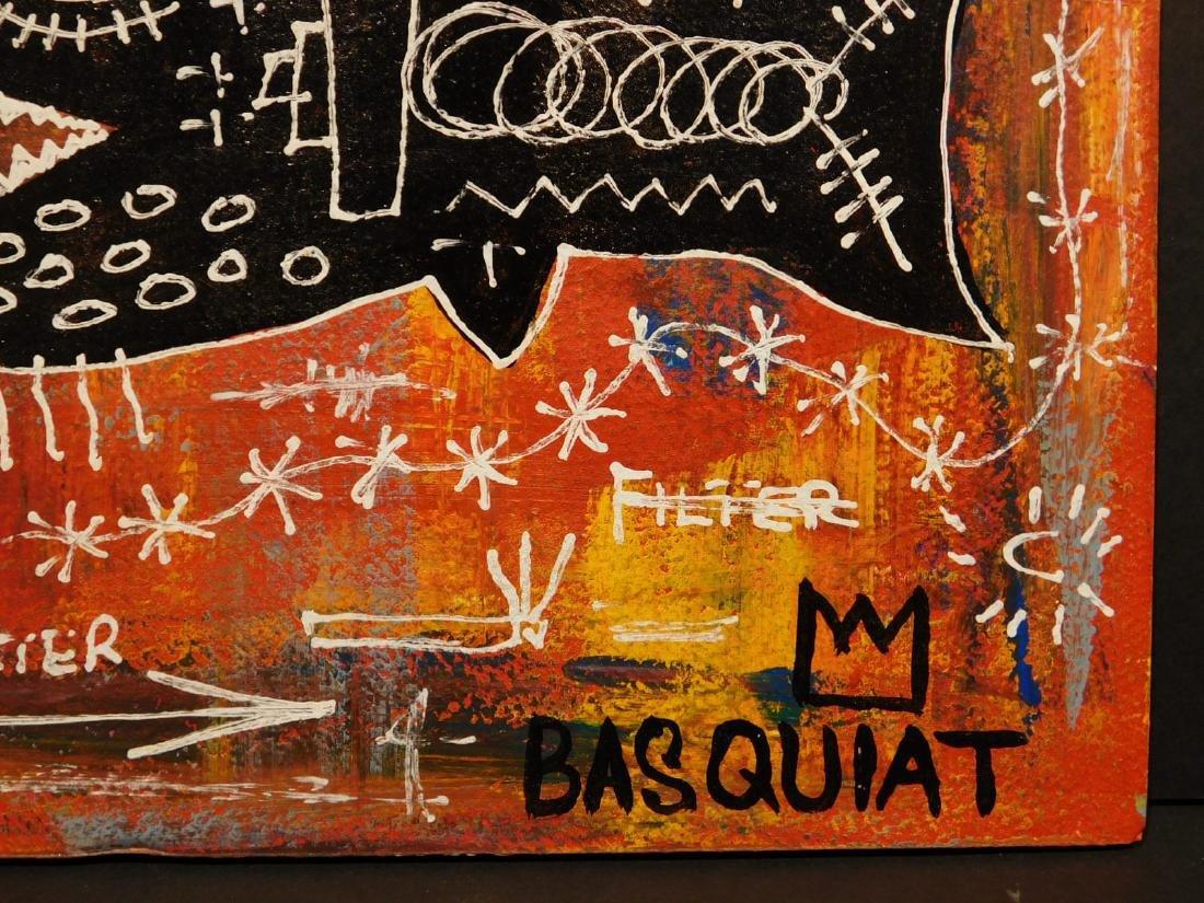 Jean-Michel Basquiat: Federal Reserve - 4