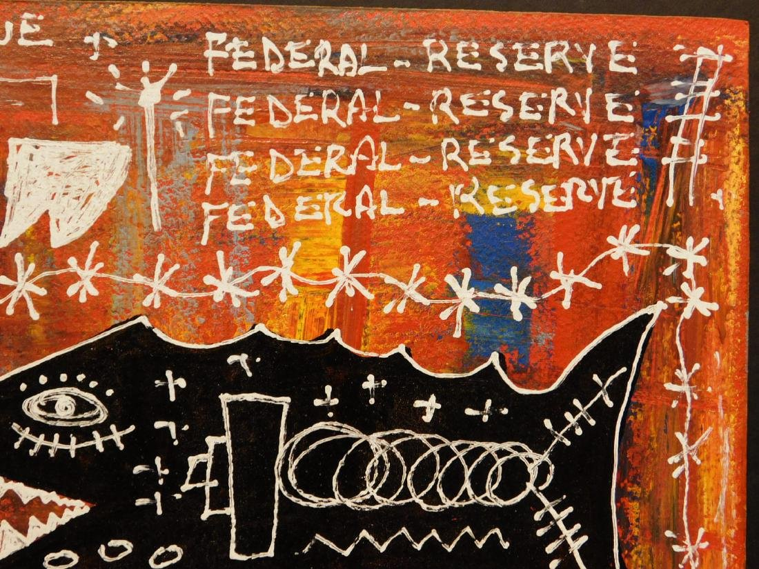 Jean-Michel Basquiat: Federal Reserve - 5