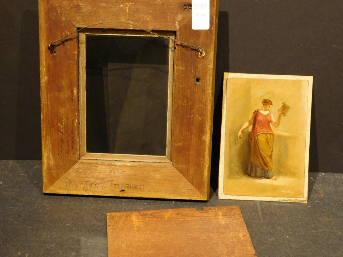Henry Kirke Brown: Classical Figure Study, 1885 oil - 3