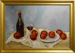 Contemporary Realist Still Life Oil Painting