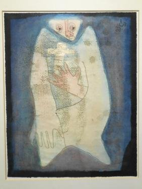 Figurative Abstract Etching